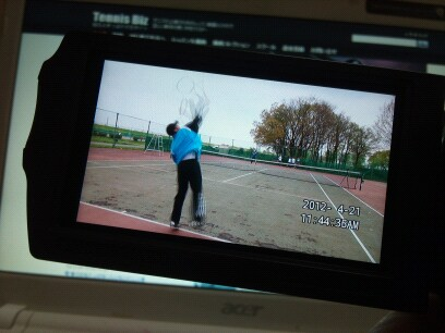 Tennis Biz サービスDVD